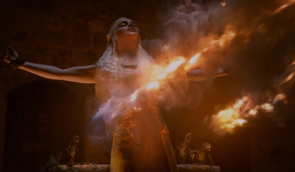 Game of Thrones - Daenerys Fire