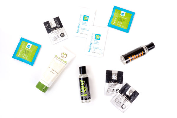 samples lust system jo coco-crush healthy hoo hoo lubes massage oils