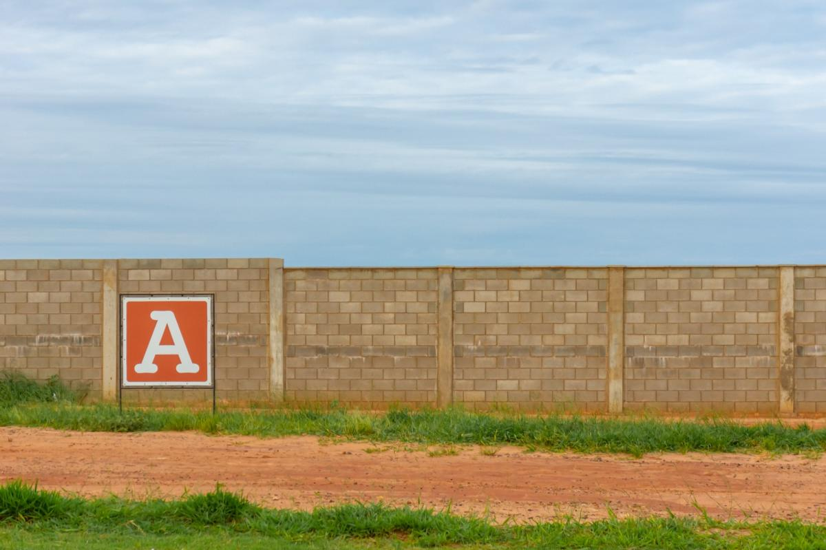 The letter A representing the A spot